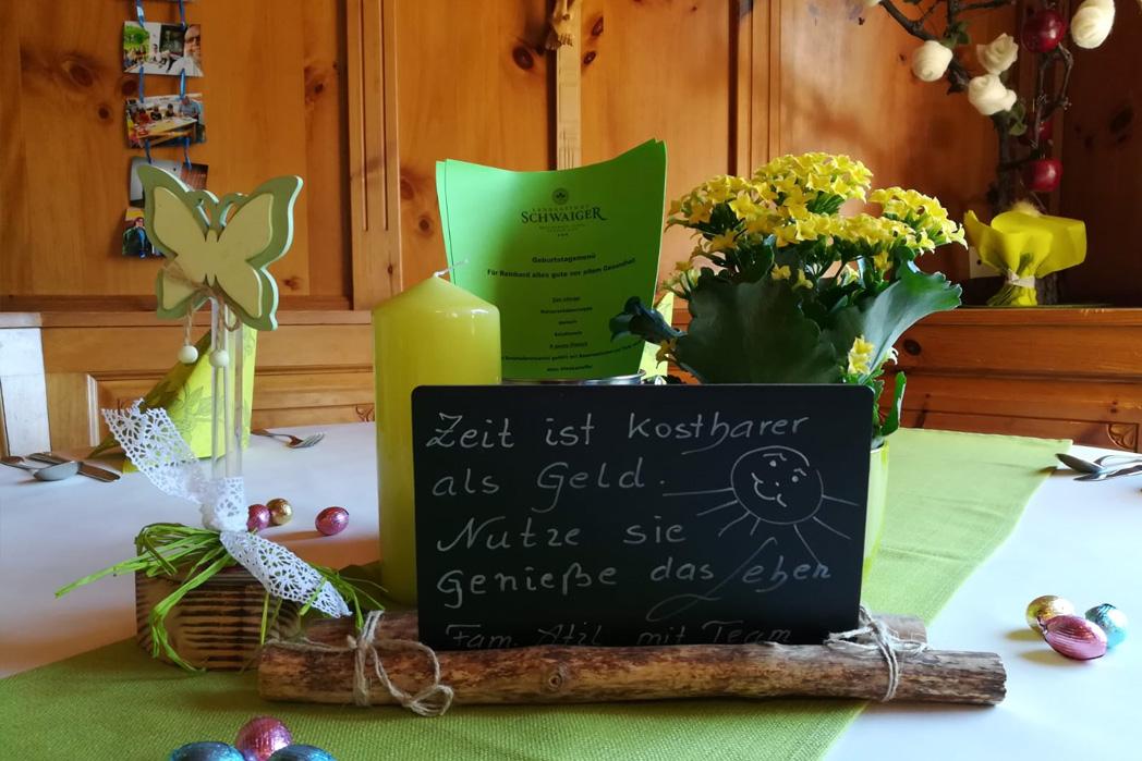 Landgasthof Schwaiger Breitenbach Tirol - Wirtshaus